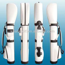 Quality Customized PU Leather Golf Pencil Bag/Golf Gun Bag