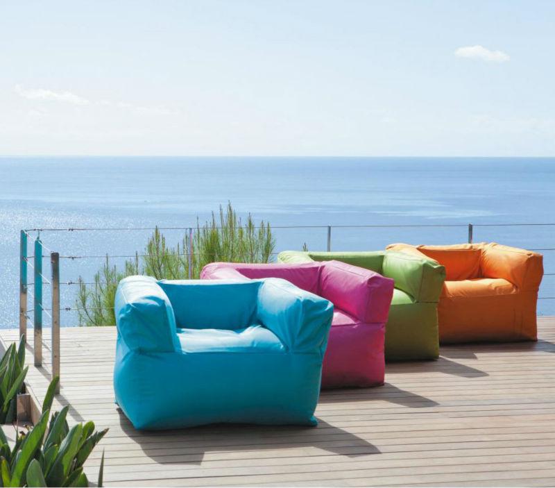 New arrival luxury style outdoor beach bean bag beach sofa - Pouf gonflable exterieur ...