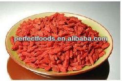 Dried Ningxia Goji Berries China medlar fruits