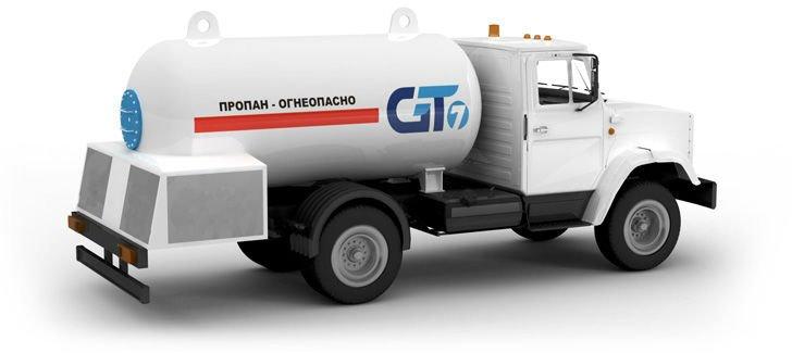 8000L LPG Tanker Truck