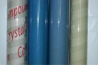 2013 special offer natural color super clear soft pvc film(colors)