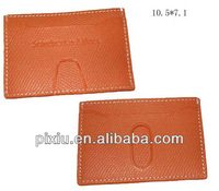 wholesales PU leather atm card cover