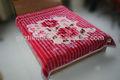 Não. 830 borracha cor vermelha exportação baratos manta têxtil