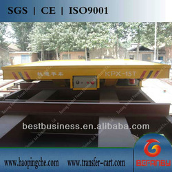 kpx-10t industrial use rail transfer car company