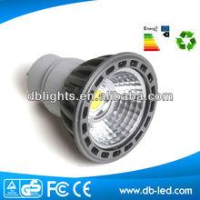 5W COB LED Light Bulbs E27/GU10 550 lumens led Spotlight White Warm White
