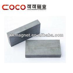 large block neodymium magnetic raw material