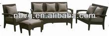 6 Seats Chair Set Rattan Garden Furniture
