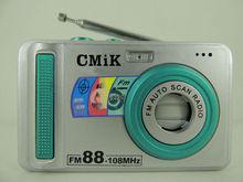 MK-226 fm radio mini digital speaker