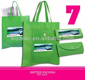 Environmental Friendly Foldable Shopping Bag