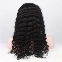 2013 new products malaysian curly hair lace front wig