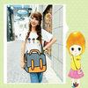 Leisure Women Bags, 3D cartoon shoulder bag