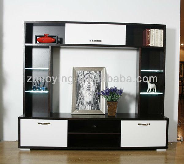 Modern Wooden Lcd Wallunits Living Room Furniture FA09B