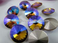 wholesale top quality topaz AB Rivoli 1122 stone for decoration