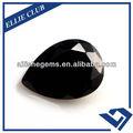 brillando diamante negro con forma de pera cz097