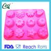 food grade silicone baking cake stencils decorative