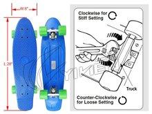 Customized Borad/Wheels/Truck For Skateboard