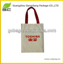 manufacturer guangzhou packing promotional canvas bag