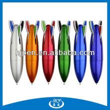 Rocket Shape Plastic Ball Pen, Novelty Ball Pen, Fashionable Plastic Ball Pen