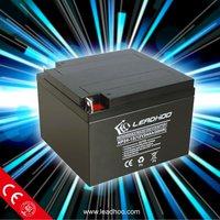 12V 24AH back up solar battery