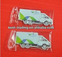 2mm paper air freshener in car shape auto hanging air freshener
