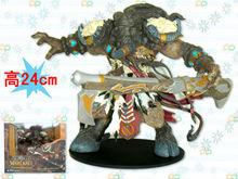Wholesale World of Warcraft hot sale Games Tauren Chieftain Toys Anime new fashion design PVC Action Figure