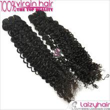 2013 New coming 100% virgin wholesale Braid curl hair extensions