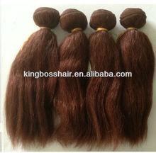 100% cheap remy Human Hair 4 PACKETS 12 INCH - 100% HUMAN HAIR BUNDLE - (COLOUR 33) SUMMER SALE!!