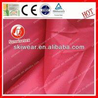 Functional fireproof cotton moleskin fabric