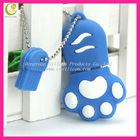 super cheap custom promotional silicone rubber panda mini usb flash drive with case,cute usb cover