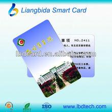 Ultimate hot sale pvc Proximity RFID NXP printed card (Hitag S256/ Hitag S2048)