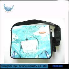Men's PU shoulder bag with adjustable strap
