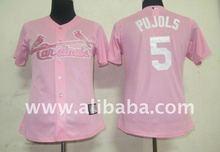 Baseball & Softball Wear Women Jerseys St.Louis Cardinals #5 pujols Pink