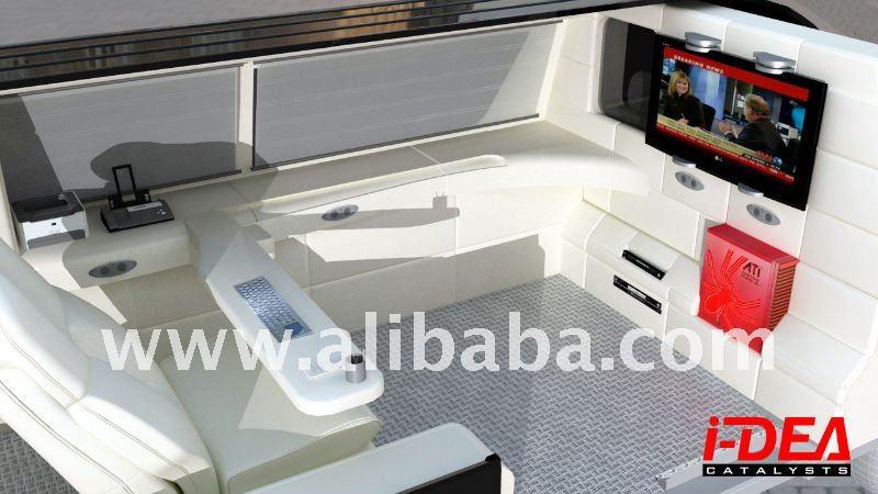 Customized interior, van