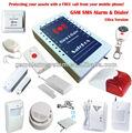 Venda quente s160 alerta sms de alarme home sem fio/fio gsm alarme safebox gsm sistema de alarme, corrente à espera: 30-35ma