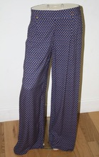 Ladies Ex Chain store Palazzo Trousers