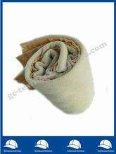 Compounded Anti-pilling Polar Fleece Blanket with satin binding edge