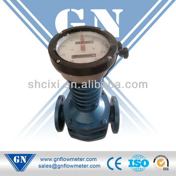 industrial oval gear flow meter for high temperature liquid