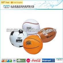 inflatable pvc basketball/football