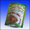 Custom heat seal resealable plastic bags for food