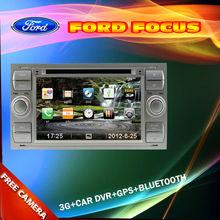 3G Car radio for Ford Focus Kuga Transit C max Fusion Support Car DVR front view camera GPS Bluetooth Radio TV USB SD IPOD
