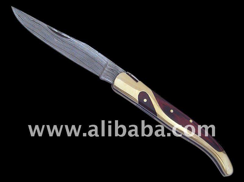 damasco coltelli pieghevoli