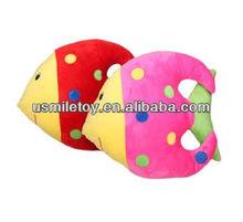 plush animal sea animal pattern