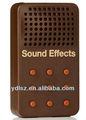 Electronic caixa de som efeitos peido fanfarra falando caixa para presente relativo à promoção, brinquedos da boneca