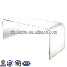 U-Shape Clear Acrylic Table