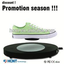 Nuova invenzione! Levitazione magnetica stand display a led per calzature donna, dexter scarpe da bowling