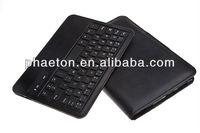 Nexus 7 2 bluetooth keyboard leather case, 2013 newest detachable wireless keyboard for 7 inch tablet Google nexus 7 II Second