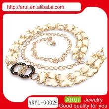 womens accessories cheap waist chain wholesale fashion gold chain belt
