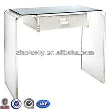 Custom Single Acrylic Computer Desk