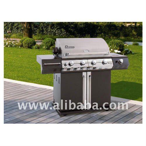 Landmann avalon 4 br leur barbecue gaz avec rotissere grille de barbecue id - Barbecue gaz landmann ...