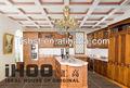 Design de luxo de mogno madeira maciça armários de cozinha, ak580